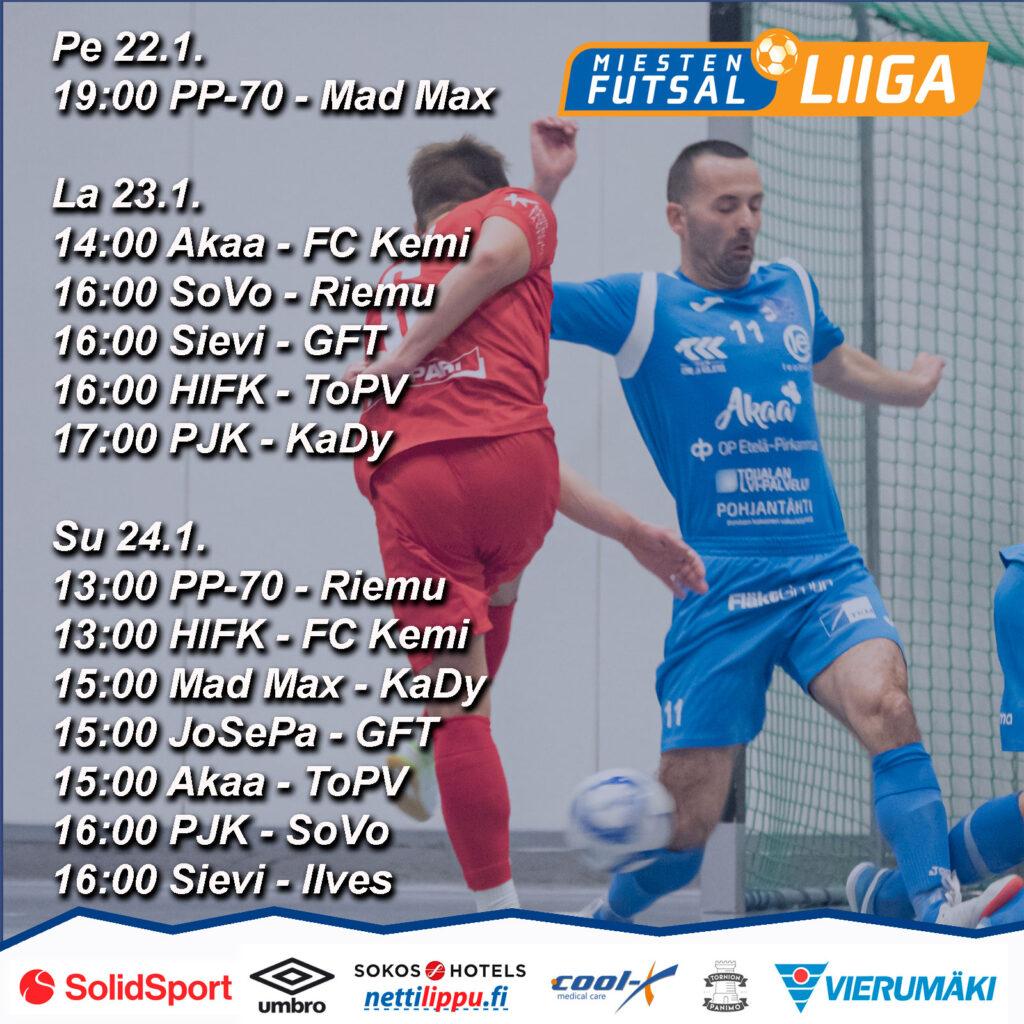 Otteluseuranta Futsal